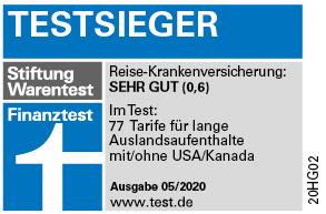 Stiftung Warentest Finanztest Testsieger 05/2020
